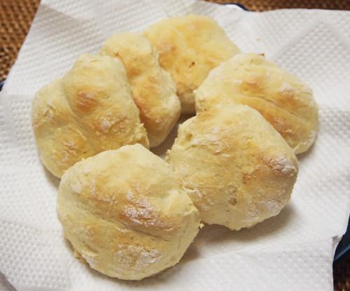 20140403 豆腐の手捏ねパン