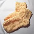 20130210 かぎ針編みのルームソックス