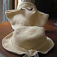 20130622 お揃いの帽子とミニマルシェバッグ