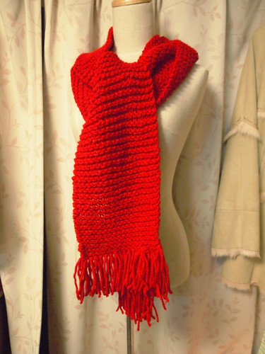 20130226 赤いマフラー