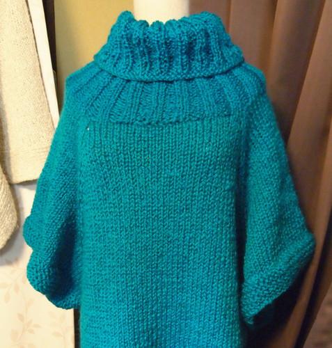 20140126 ロービングヤーンのビッグセーター