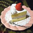 20091210 フェルトイチゴショートケーキ