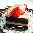 20120214 フェルトチョコショートケーキ
