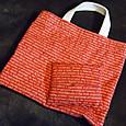 20141109 お揃い布のバッグとティッシュケース